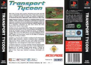 Transport tycoon ps1 jaquette